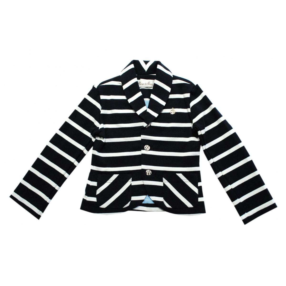 Трикотажный пиджак на мальчика.