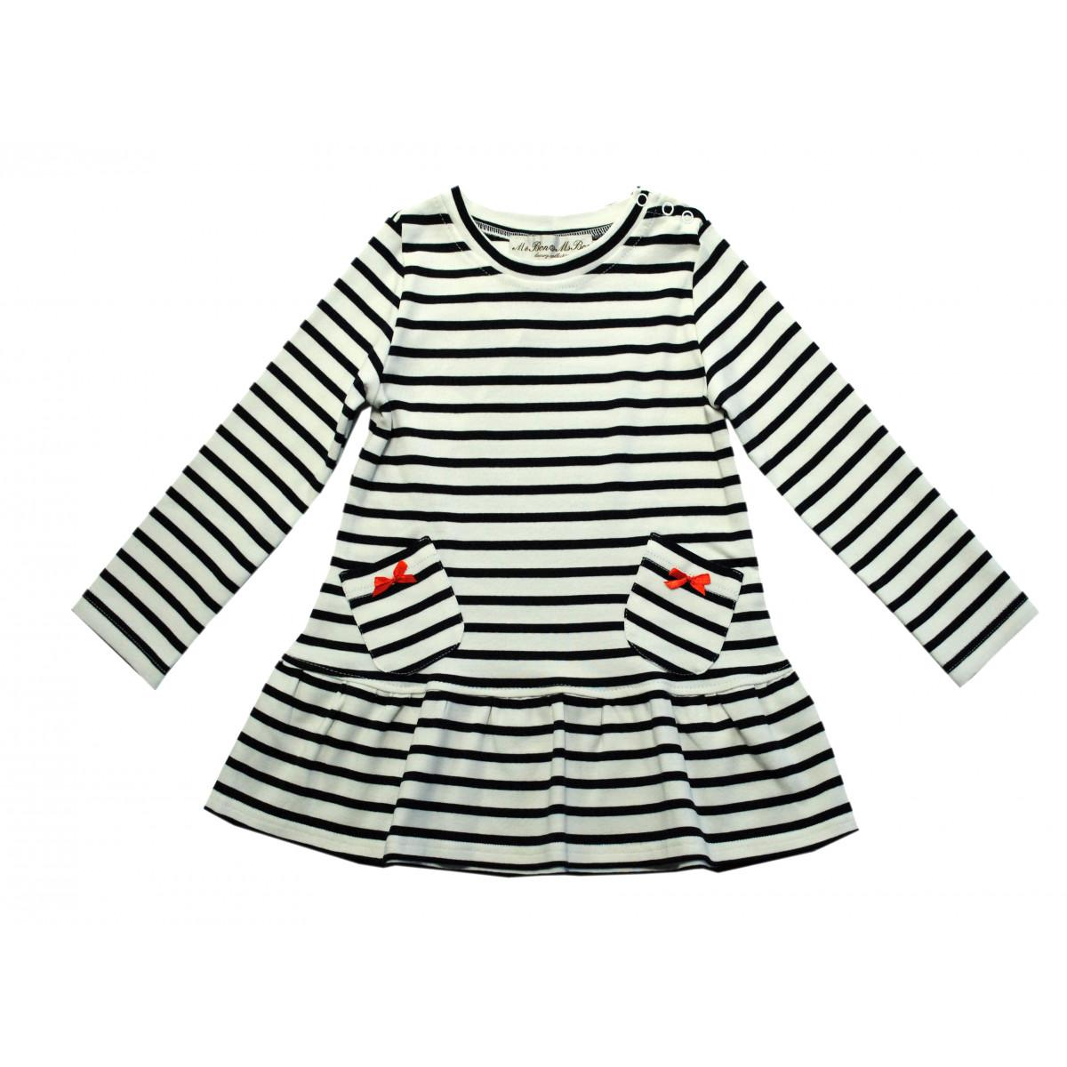 Платье для девочки трикотажное.