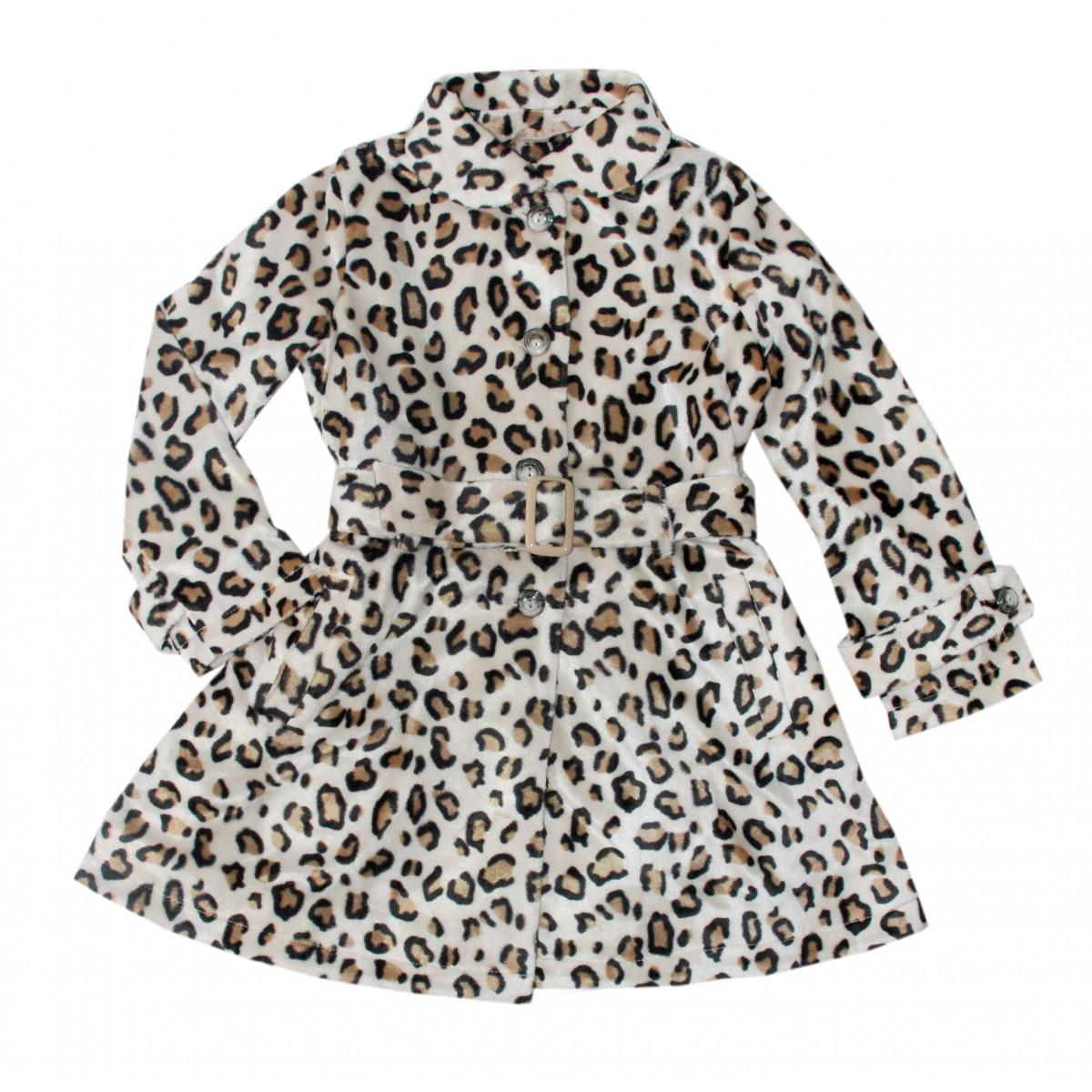 Пальто леопардовое.