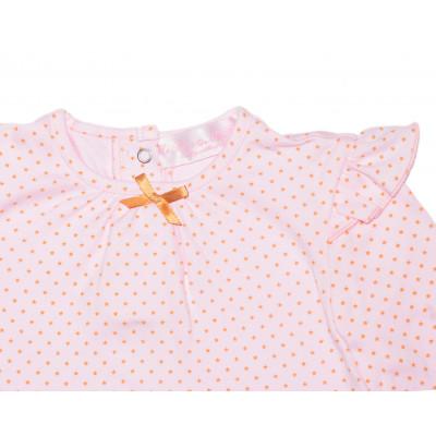 Блузка с бантиком.Трикотажная.