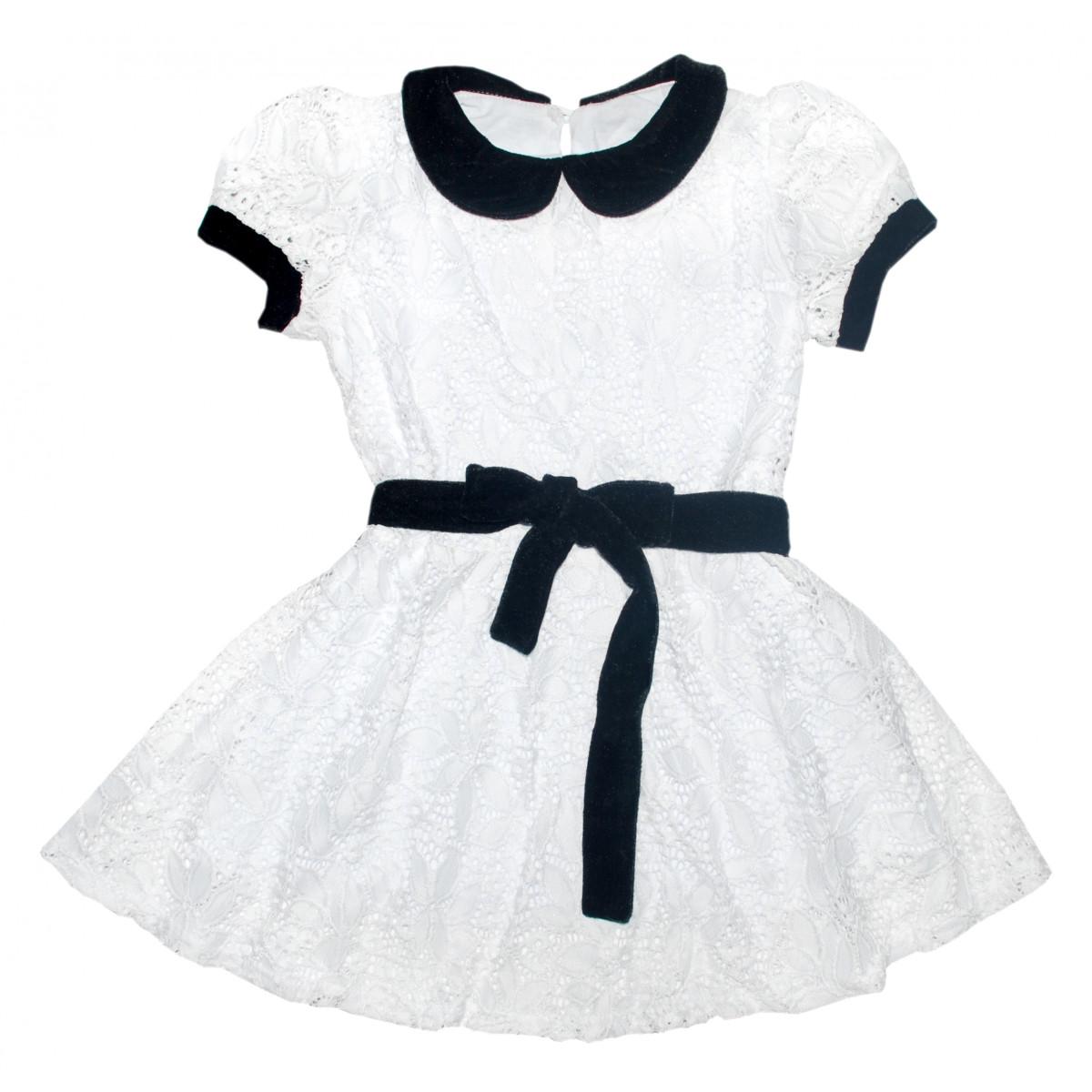 Платье из гипюра.