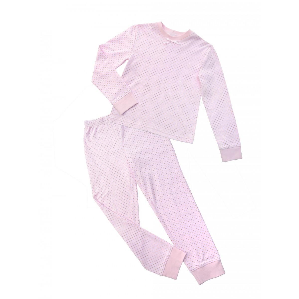 Пижама розовая.