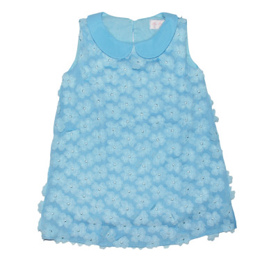 Платье голубое.