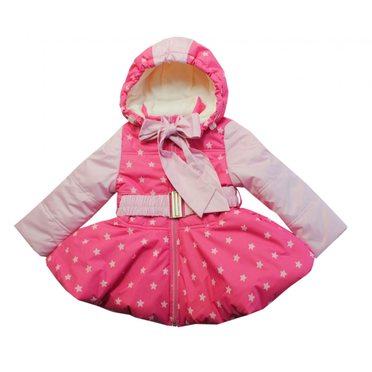 Комплект для девочки. Куртка + полукомбинезон.