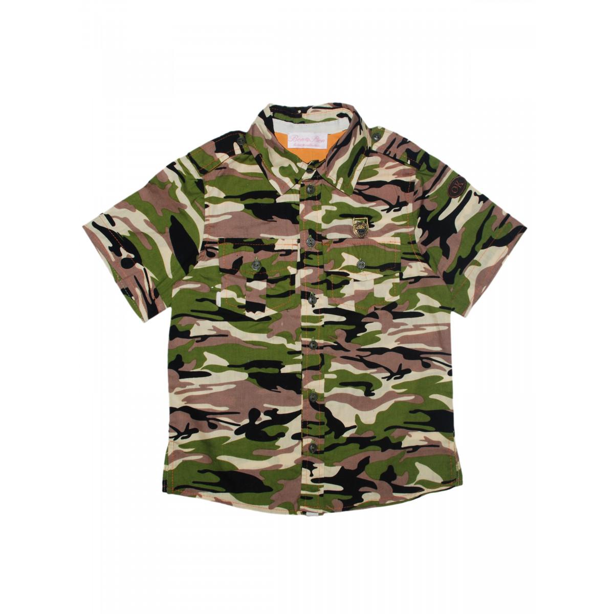 """Рубашка """"Милитари""""."""