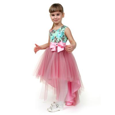 Платье.Пышное с бантом.