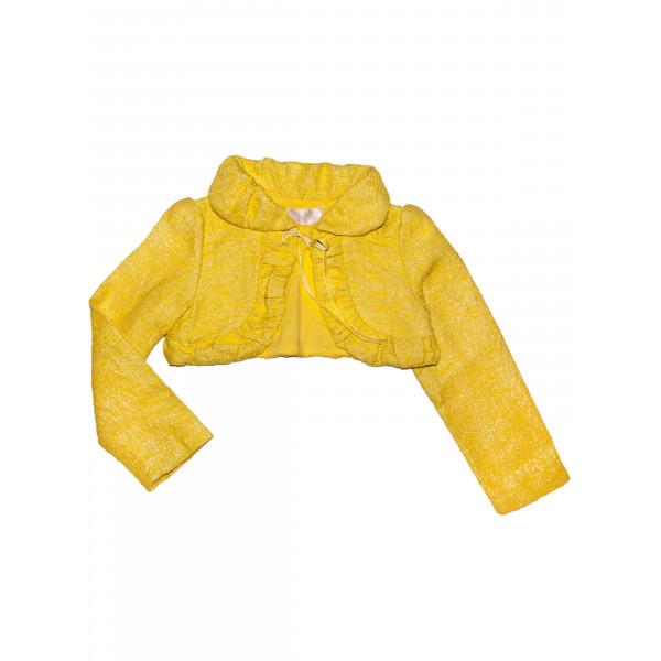 Жакет жёлтый.