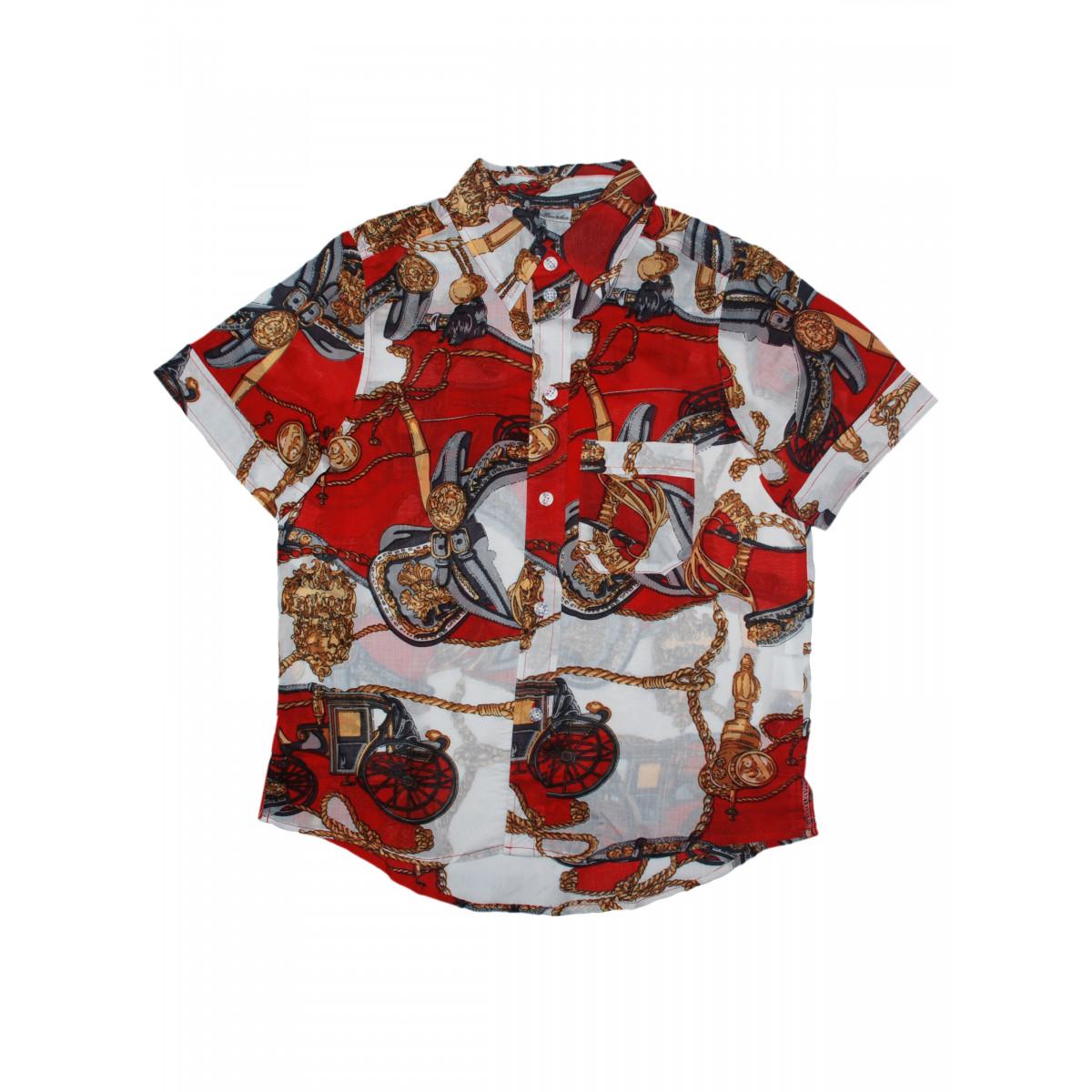 """Рубашка """"Якоря""""."""