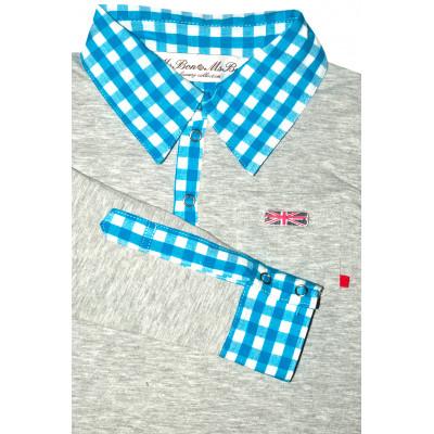 Рубашка поло.Трикотажная.