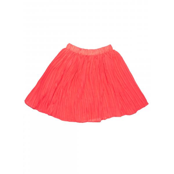 Воздушная юбка.Красная