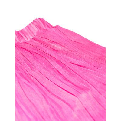 Воздушная юбка.Малиновая