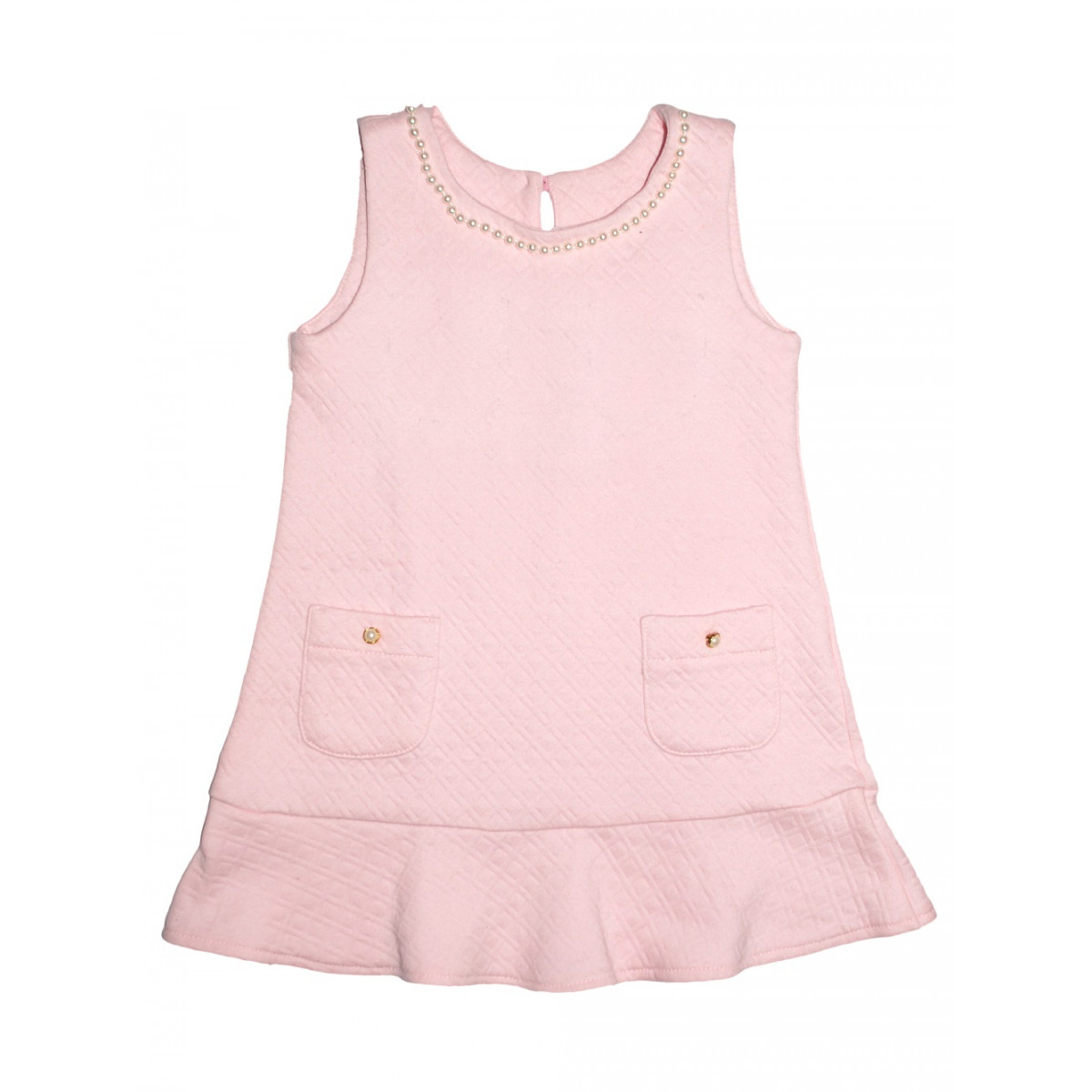 Сарафан розовый.