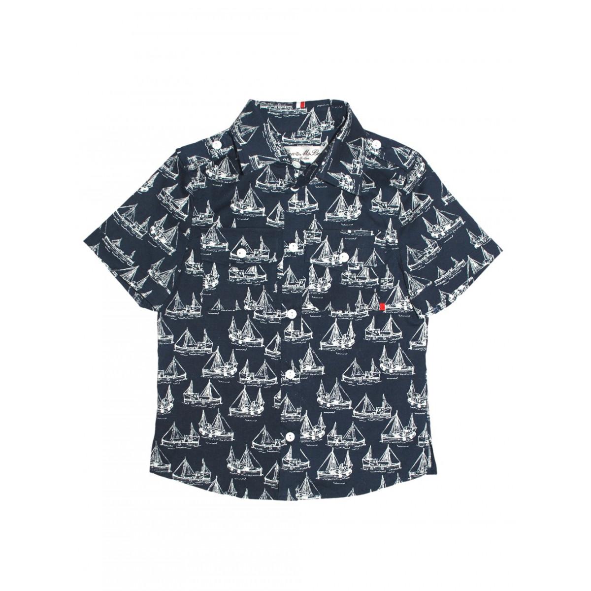 """Рубашка """"Кораблик"""""""