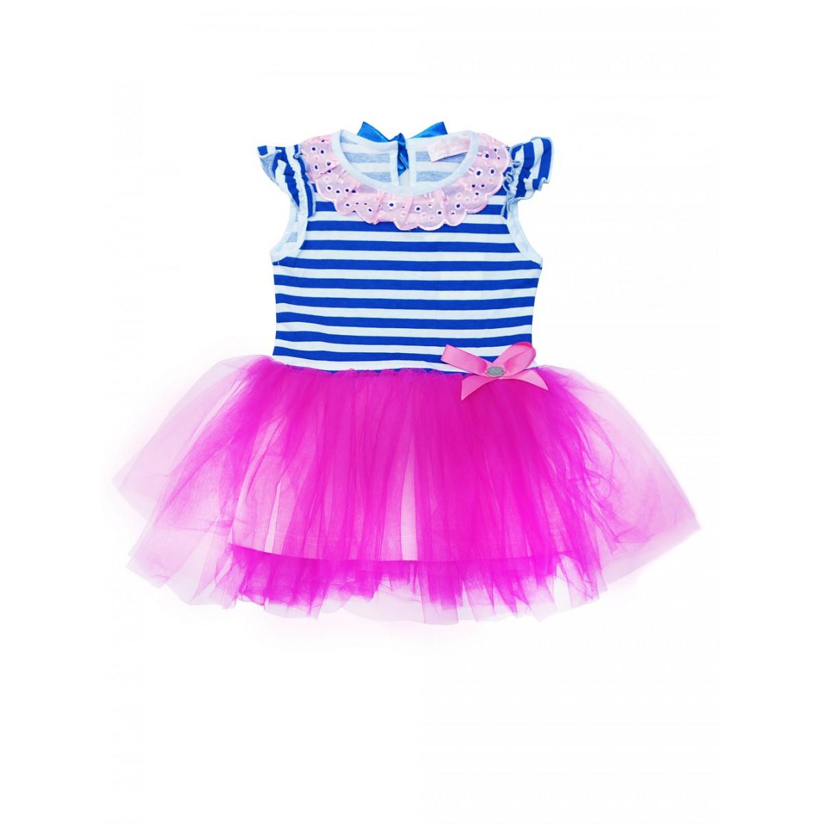 Платье в морском стиле!